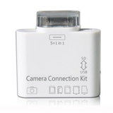 5 in 1 Camera Connection Kit Card Reader Adapter for Apple iPad 1,2,3 - LiquidationOutlet.ca