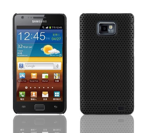 Mesh Back Case - Black - LiquidationOutlet.ca