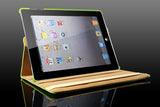 360 Ipad 2/3 Magnetic Leather Case- Yellow - LiquidationOutlet.ca