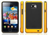 NEO hybrid vase for Samsung Galaxy S2 - Yellow - LiquidationOutlet.ca