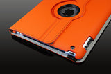 360 Ipad 2/3 Magnetic Leather Case- Orange - LiquidationOutlet.ca