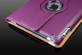 360 Ipad 5 Air Magnetic Leather Case- Purple