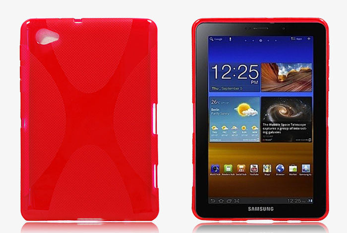Samsung Galaxy Tab P6800 - RED - LiquidationOutlet.ca