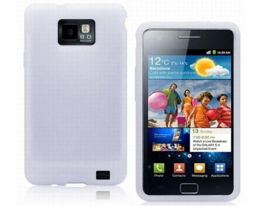 Silicone Case for Samsung Galaxy - White - LiquidationOutlet.ca
