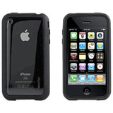 iPhone 4 XtremeMac Microshield Accent Case - Black - LiquidationOutlet.ca