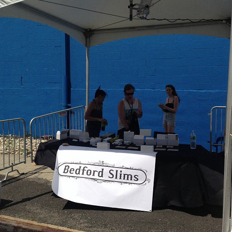 Bedford Slims booth