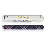 Black Plaid Battery