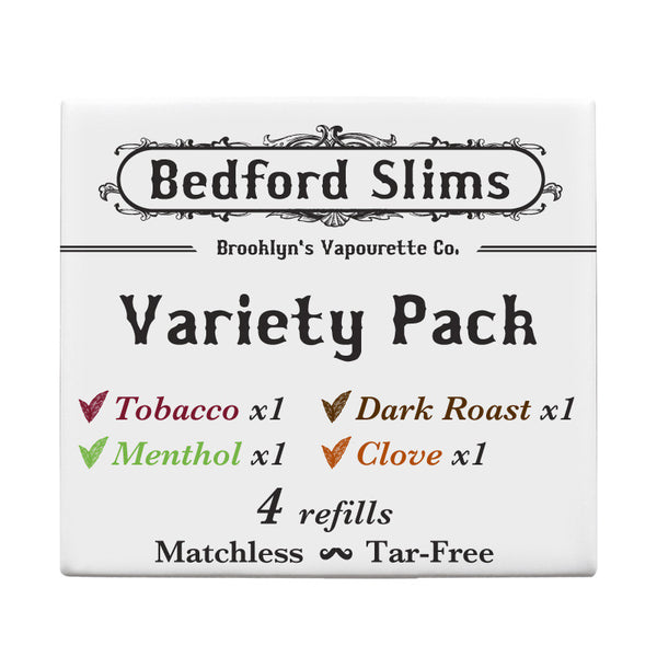 Variety Flavor Pack  -4 cartridges per pack-