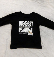 CI Sport Infant Long-Sleeve Black T-Shirt