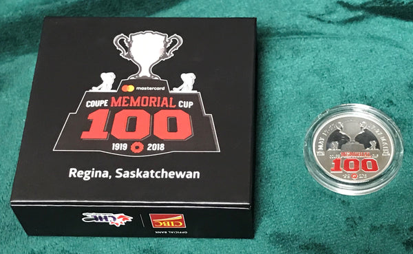 CHL Memorial Cup 100th Anniversary Commemorative Coin