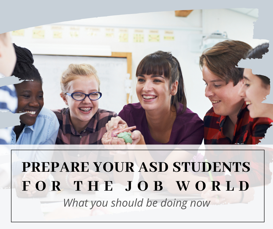 Preparing ASD Students For The Job World