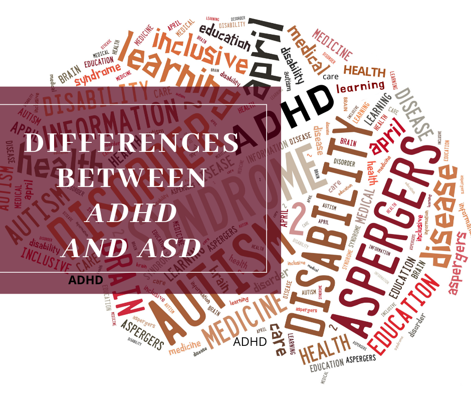 Differences Between ADHD and ASD