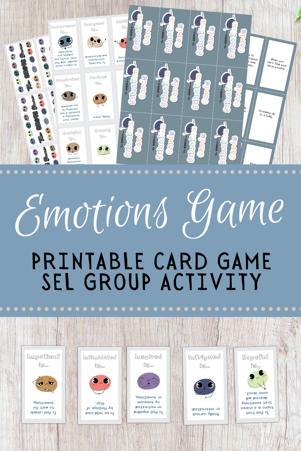 emotion cards printable