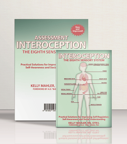 Interoception Book and Assessment Bundle - AAPC Publishing
