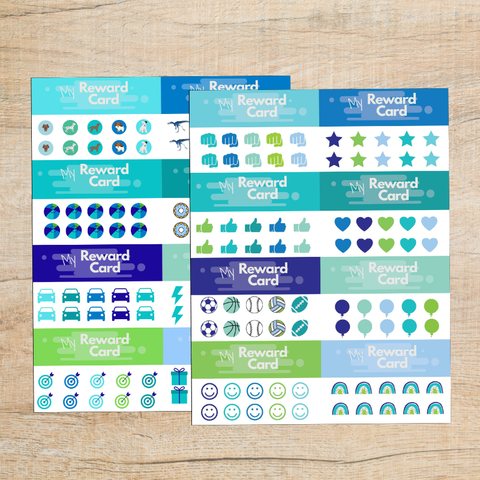 Free Printable Punch Cards for Students | Variety Pack
