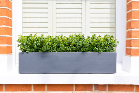 Artificial window boxes