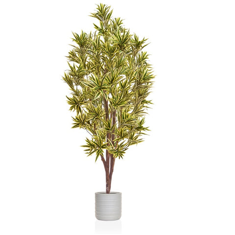 Artificial variegated tree
