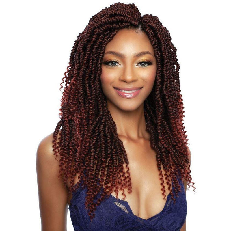 Mane Concept Afri-Naptural Synthetic Crochet Loop Braids – 2X Grande Nomadik Twist 12""