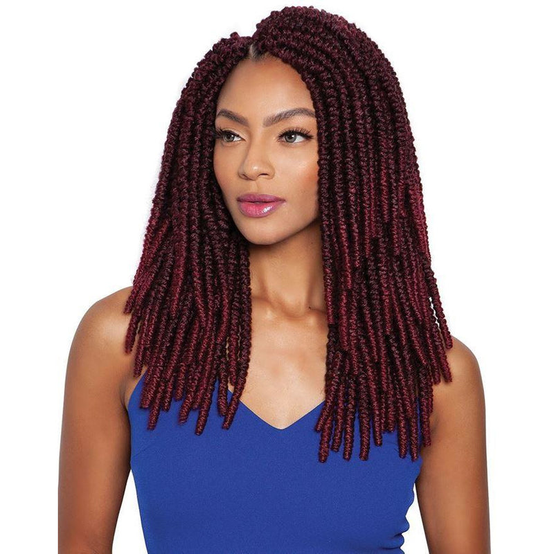 Mane Concept Afri-Naptural Synthetic Crochet Loop Braids - TWB212 2X Spring Passion Twist 12""