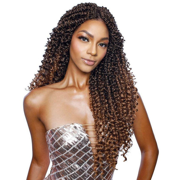 Mane Concept Afri-Naptural Synthetic Crochet Braids - TWB113 Boho Passion Twist 18""