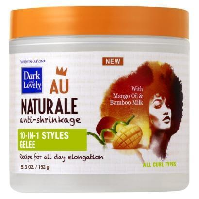 Dark and Lovely Au Naturale Anti-Shrinkage 10-In-1 Styles Gelée 5.3 OZ