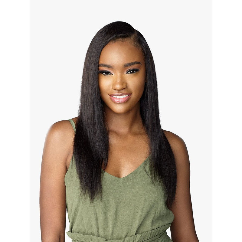 Sensationnel Bare & Natural 100% Human Hair Swiss Full Lace Wig - Natural Straight 24""