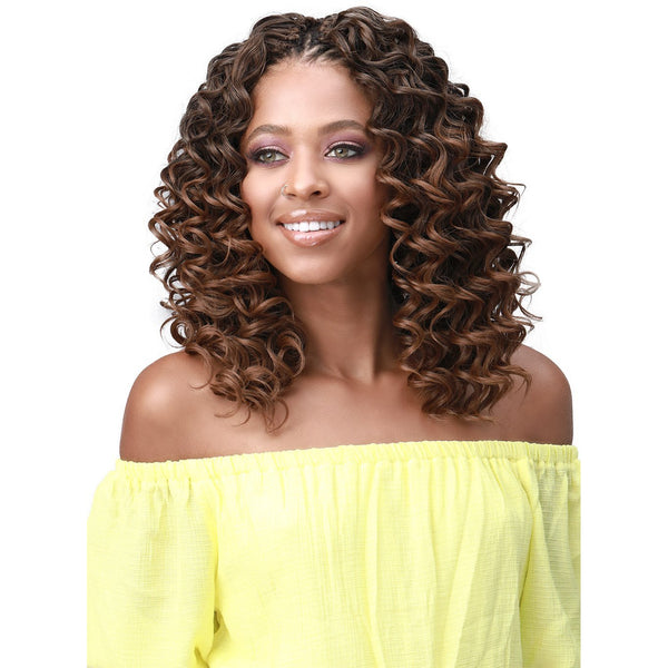 Bobbi Boss Synthetic Brazilian Crochet Braids - 2X Ripple Deep 8""