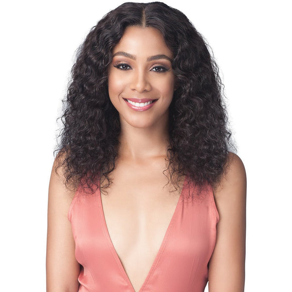Bobbi Boss 100% Unprocessed Brazilian Virgin Remy Bundle Hair Full Lace Wig - BNGLWNC20 Natural Curl 20""