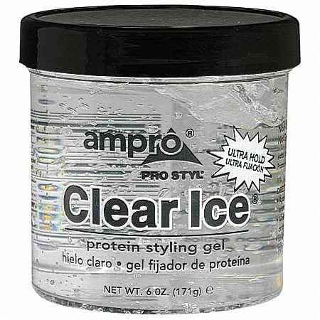 Ampro Pro Styl Protein Styling Gel Clear Ice 6 OZ