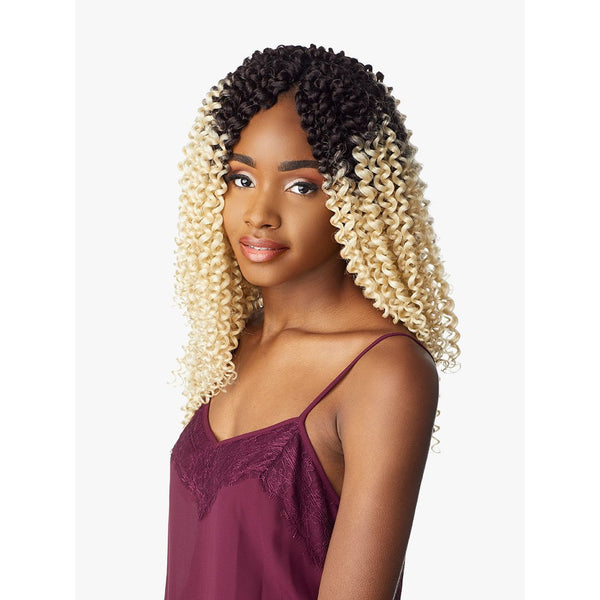 Sensationnel Lulutress Synthetic Crochet Braids – 3X Water Wave 14""