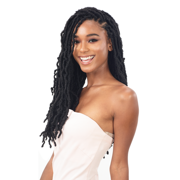 FreeTress Synthetic Crochet Braid - 3X Nikki Loc 18""