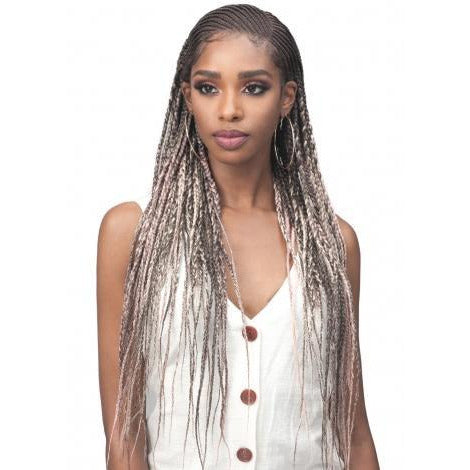Bobbi Boss Synthetic Natural Style Boho Twist Lace Front Wig - MLF-522 Cicely