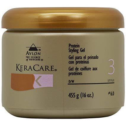 KeraCare Protein Styling Gel 16 OZ