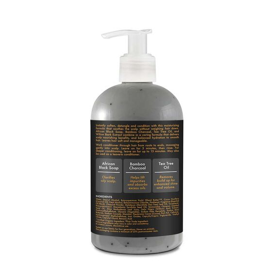 Shea Moisture African Black Soap Balancing Conditioner 13 oz