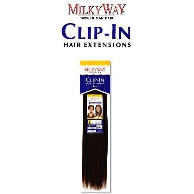 MilkyWay Clip-In Extensions – 7 Pieces 18""