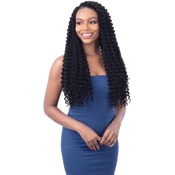 FreeTress Synthetic Crochet Braid - 3X Joyfull Curl 20""