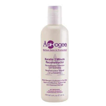 ApHogee Serious Care & Protection Keratin 2 Minute Reconstructor 8 OZ