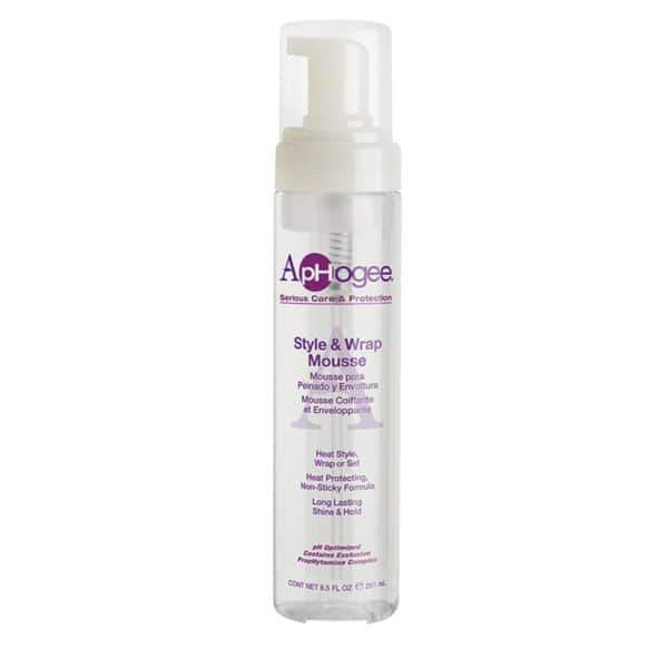 ApHogee Serious Care & Protection Style & Wrap Mousse 8.5 OZ