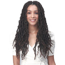 Bobbi Boss Synthetic Braids - Nu Locs Distressed BF 18""