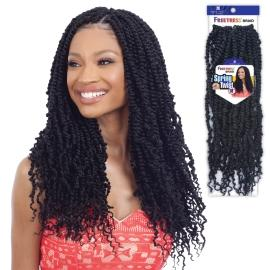 FreeTress Synthetic Crochet Braids - Spring Twist 18""