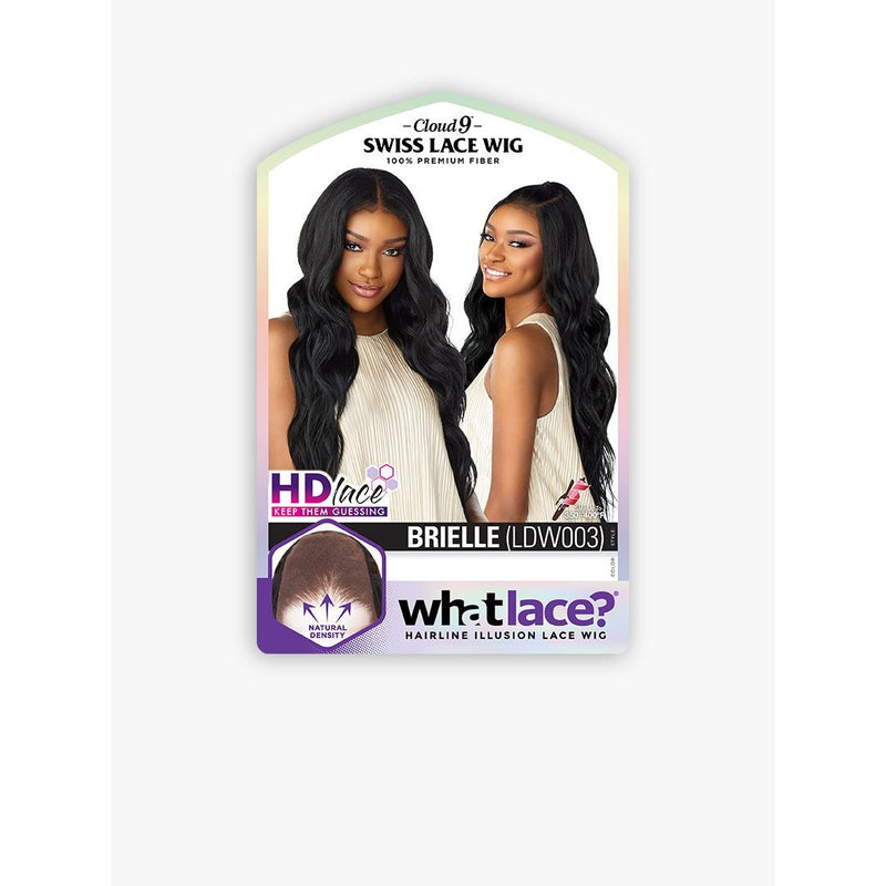 Sensationnel Cloud 9 What Lace Hairline Illusion Swiss Synthetic Lace Frontal Wig – Brielle