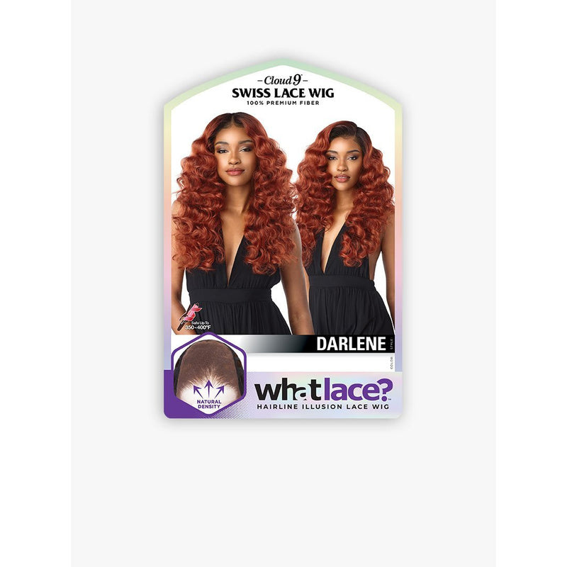 Sensationnel Synthetic Cloud 9 What Lace? Hairline Illusion Swiss Frontal Lace Wig – Darlene