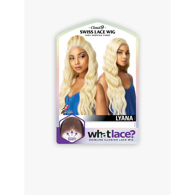 Sensationnel Synthetic Cloud 9 What Lace Hairline Illusion Swiss Lace Wig – Lyana