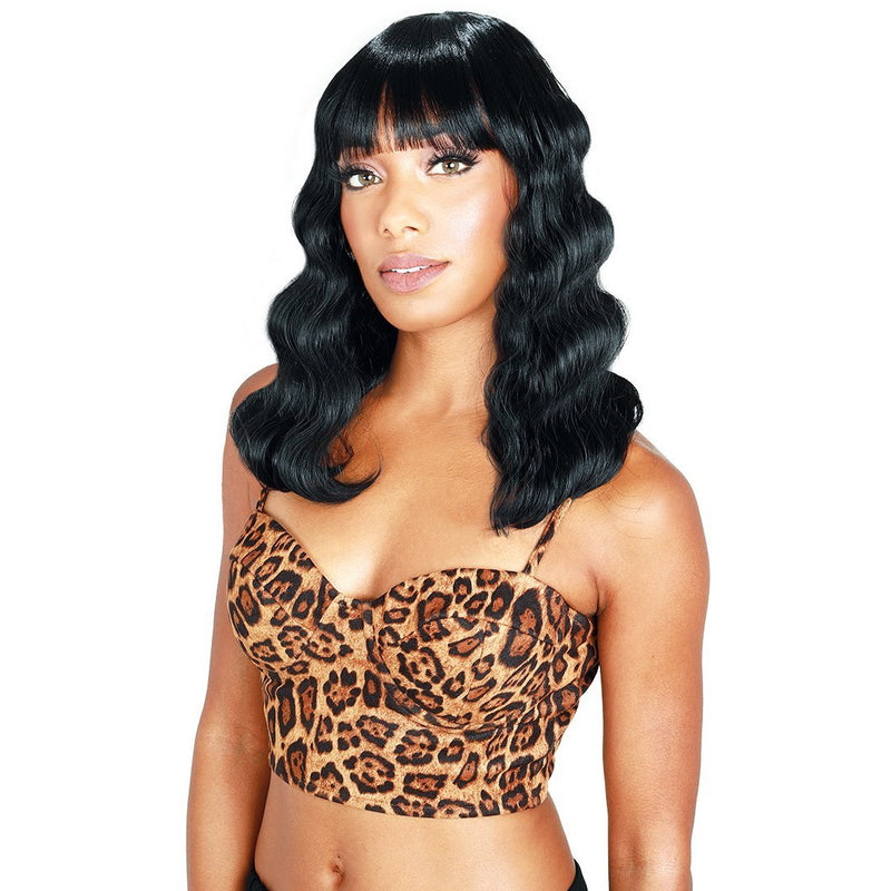 Zury Sis Dream Synthetic Wig - DR- H Bang Crimp 14""