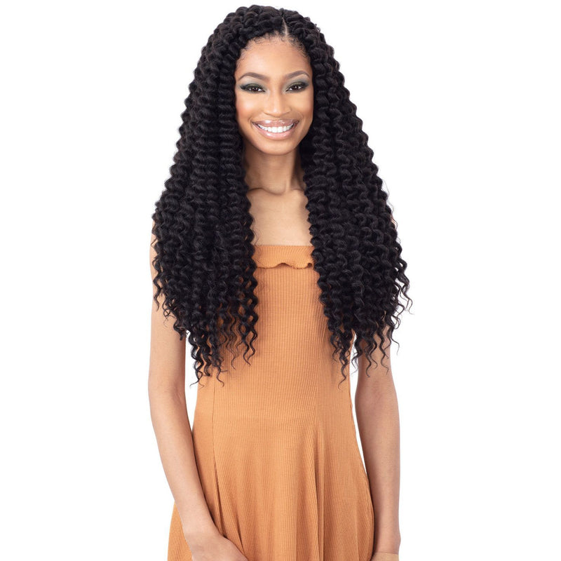 FreeTress Synthetic Crochet Braid - 3X Soulfull Curl 20""