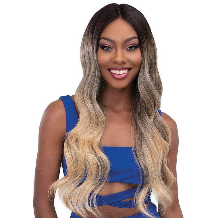 Janet Collection Melt Extended Part Synthetic Lace Front Wig - Bella