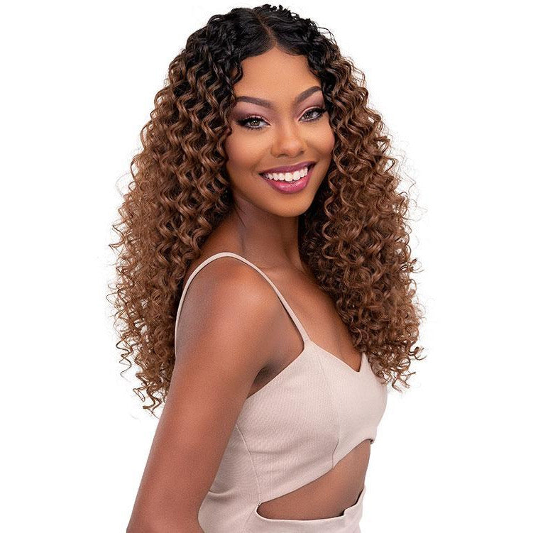 Janet Collection Melt Extended Part Synthetic Lace Front Wig - Dee