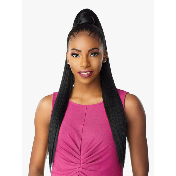 Sensationnel Instant Pony Wrap Synthetic Ponytail - Straight 30""