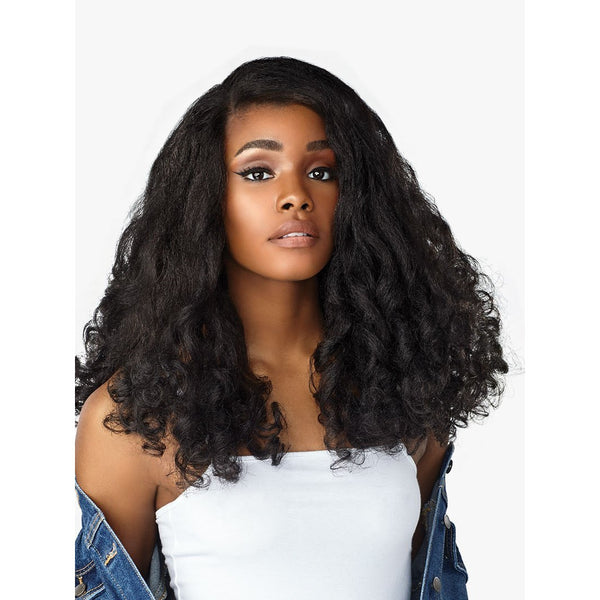 Sensationnel Synthetic Instant Weave Curls Kinks & Co. Half Wig - Heart Breaker