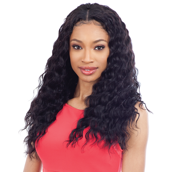 Shake N' Go Naked 100% Human Hair Pre-Loop Type Crochet Braids - Loose Deep